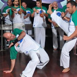 Capoeira at West Boca Community High Scholl Florida US Register NOW
